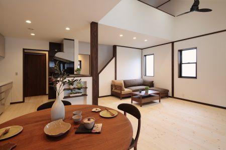 ▲コンパクトで暮らしやすいジャストサイズの平屋