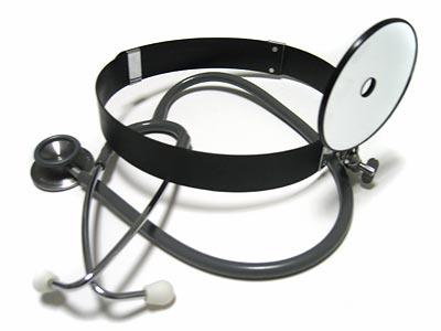 額帯鏡&聴診器
