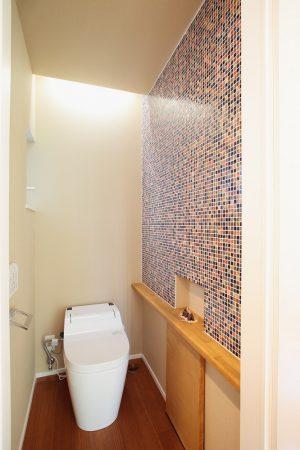 ★施工例② トイレの壁にもちょっとした遊び心を(尾ノ上・I様邸)