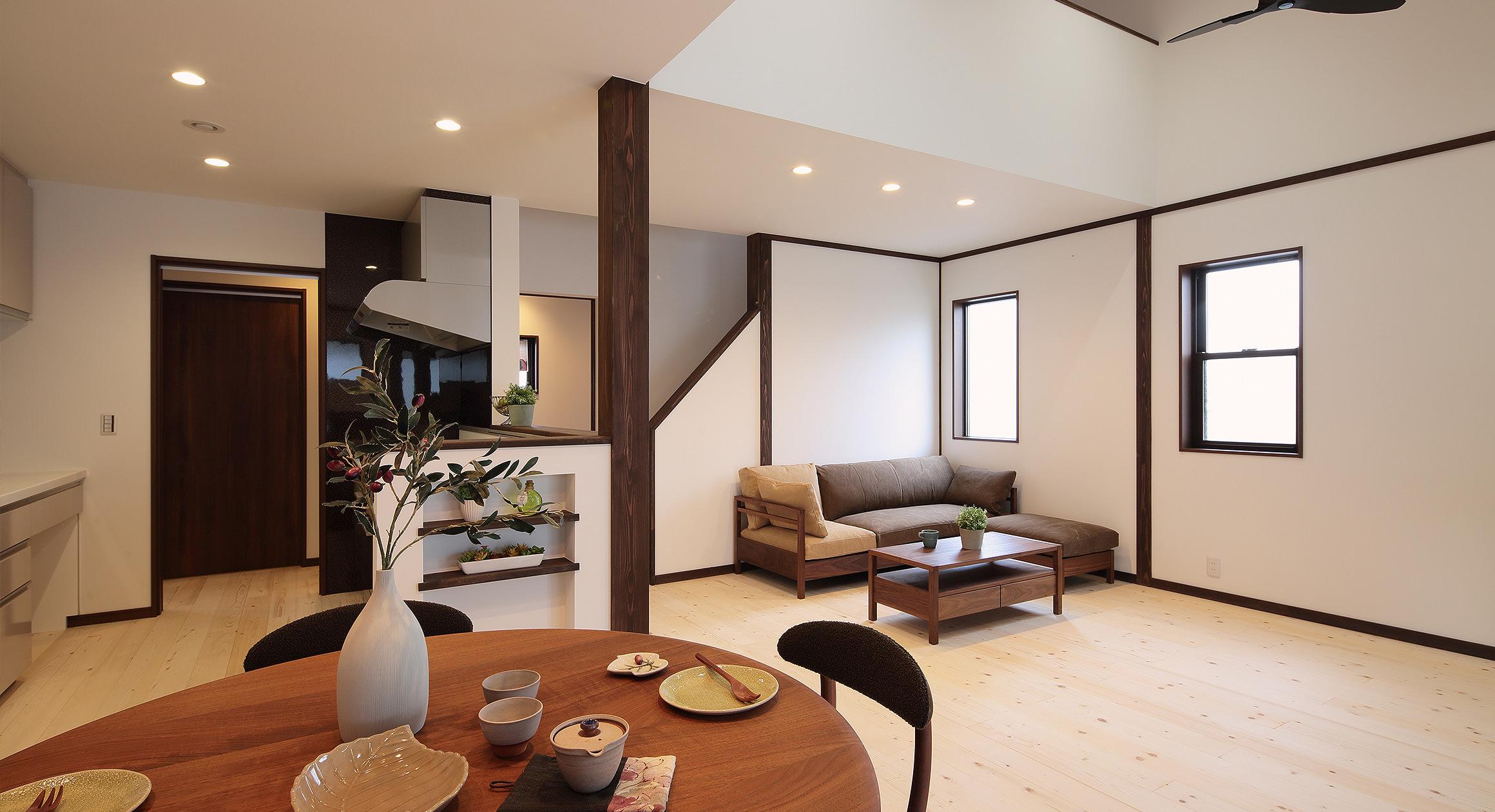 三友工務店の新築注文住宅 熊本市N様邸