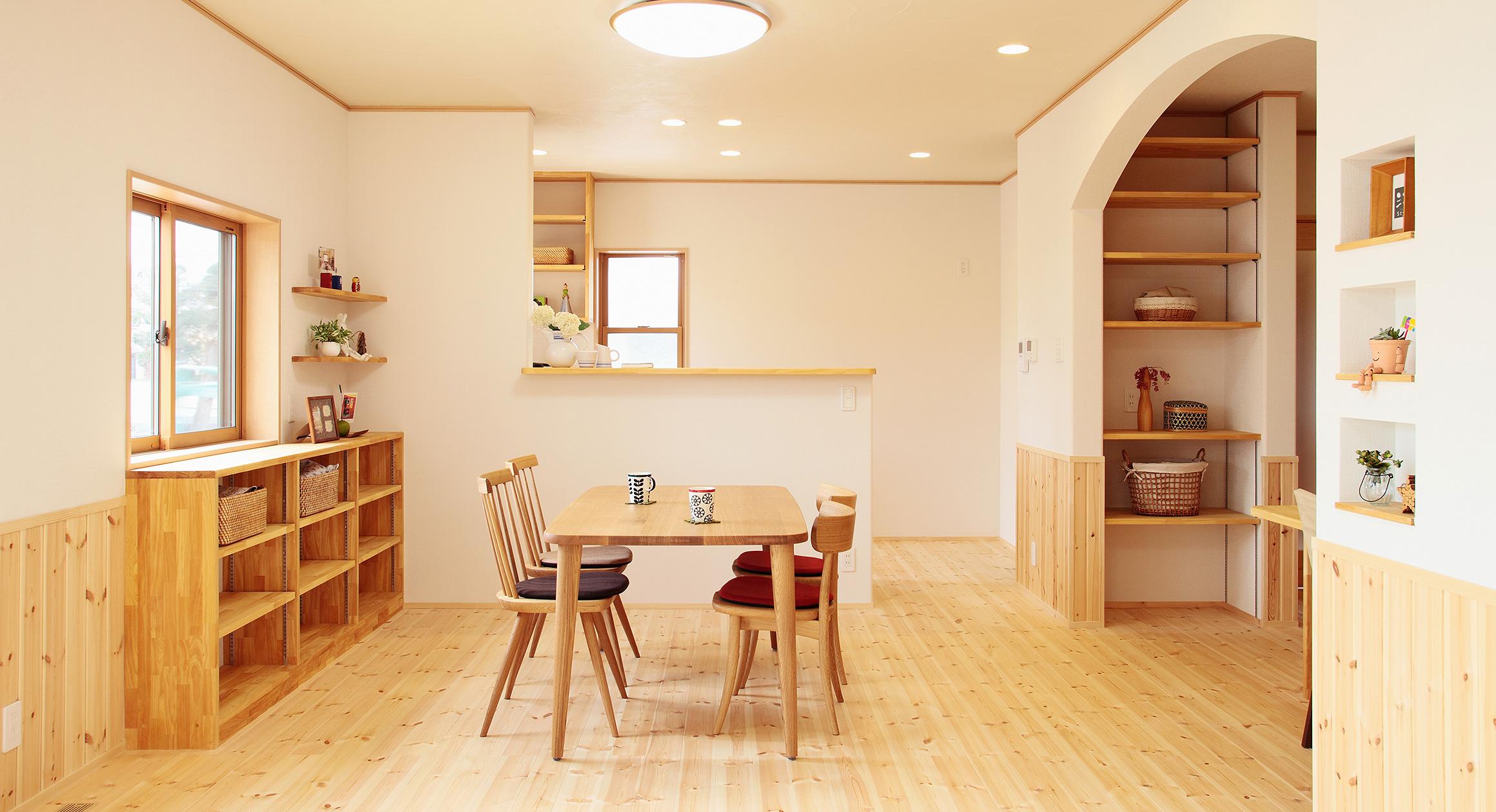 三友工務店の新築注文住宅 熊本市A様邸