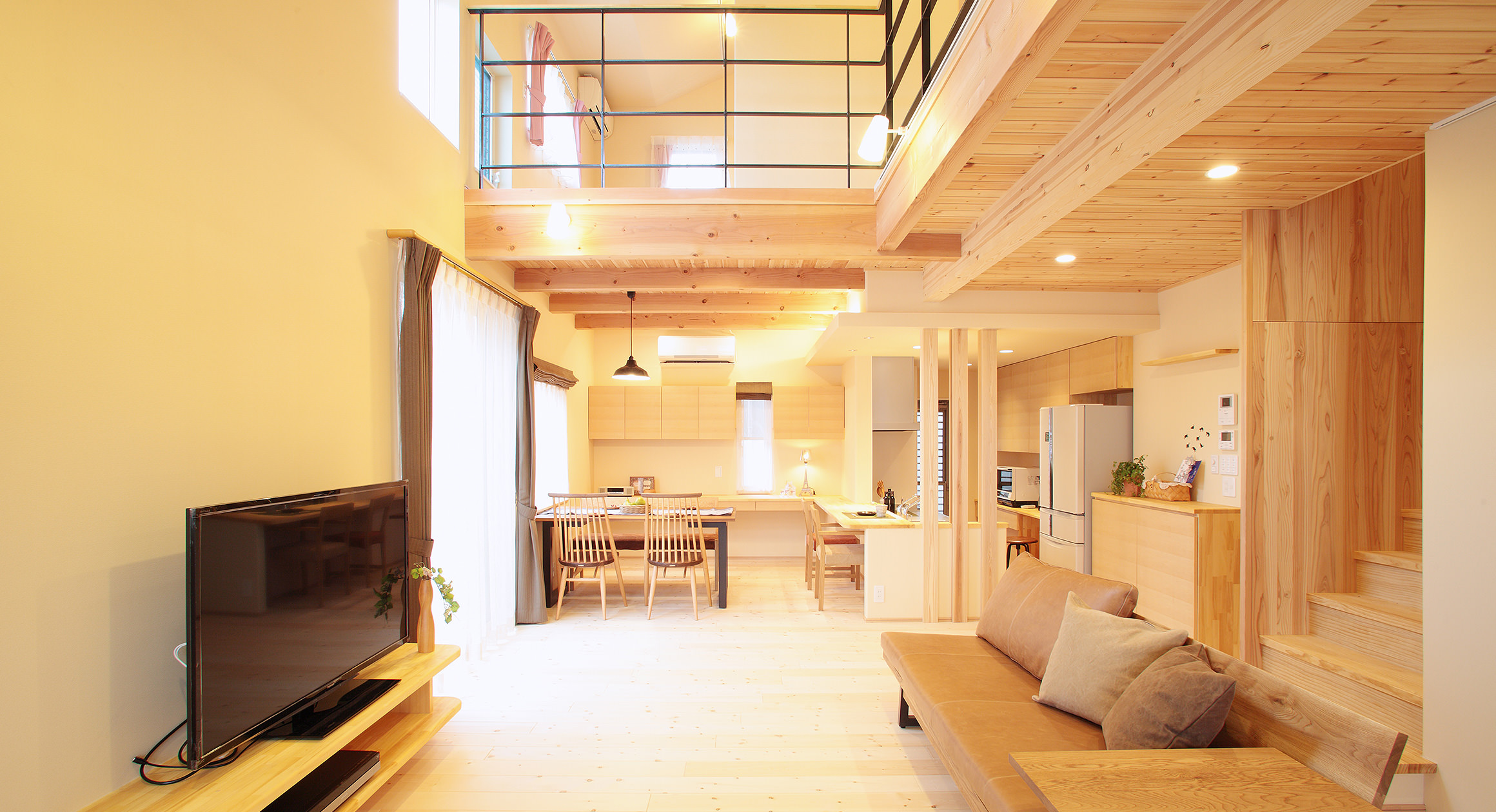 三友工務店の新築注文住宅 熊本市K様邸