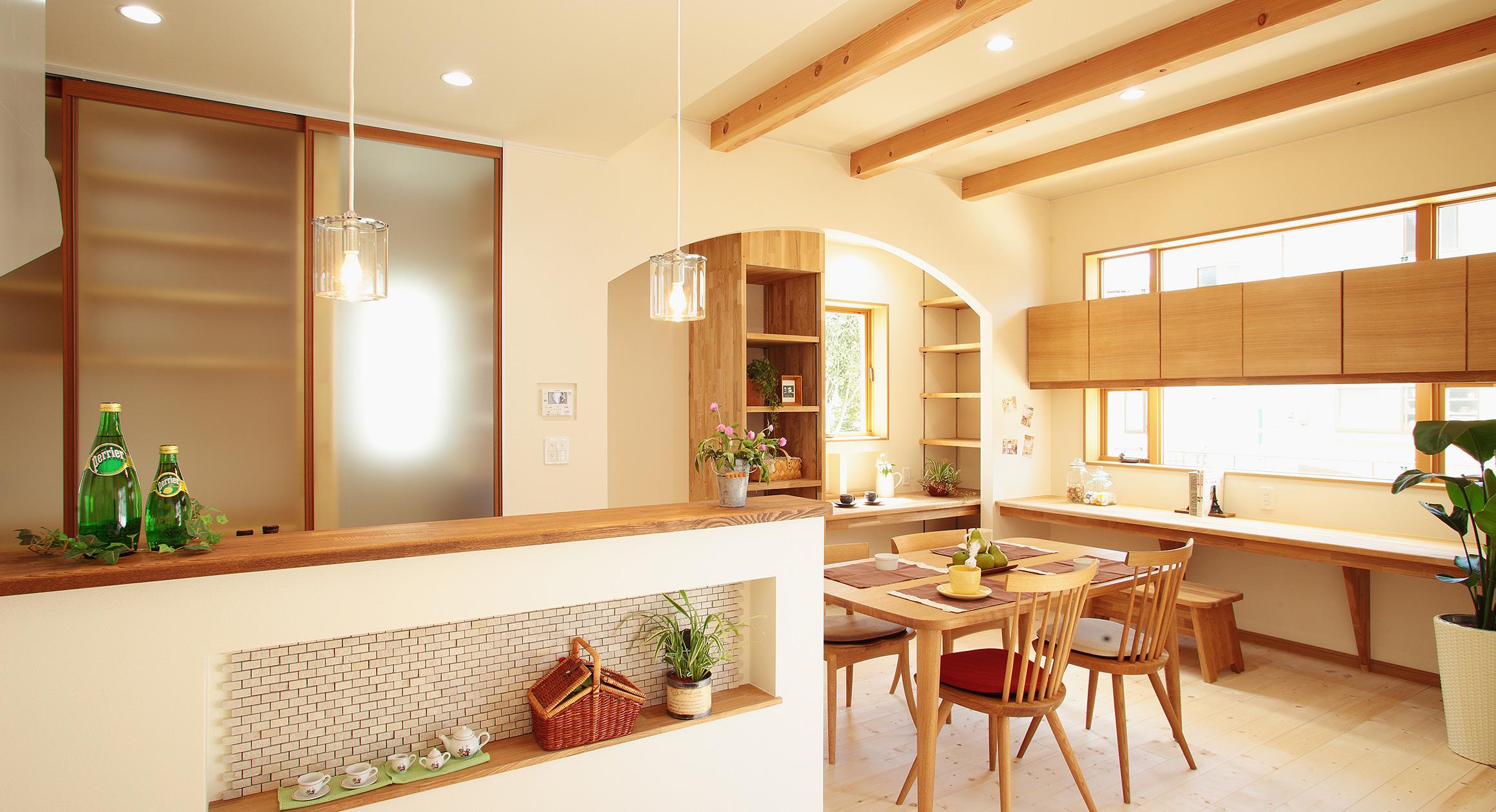 三友工務店の新築注文住宅 熊本市T様邸