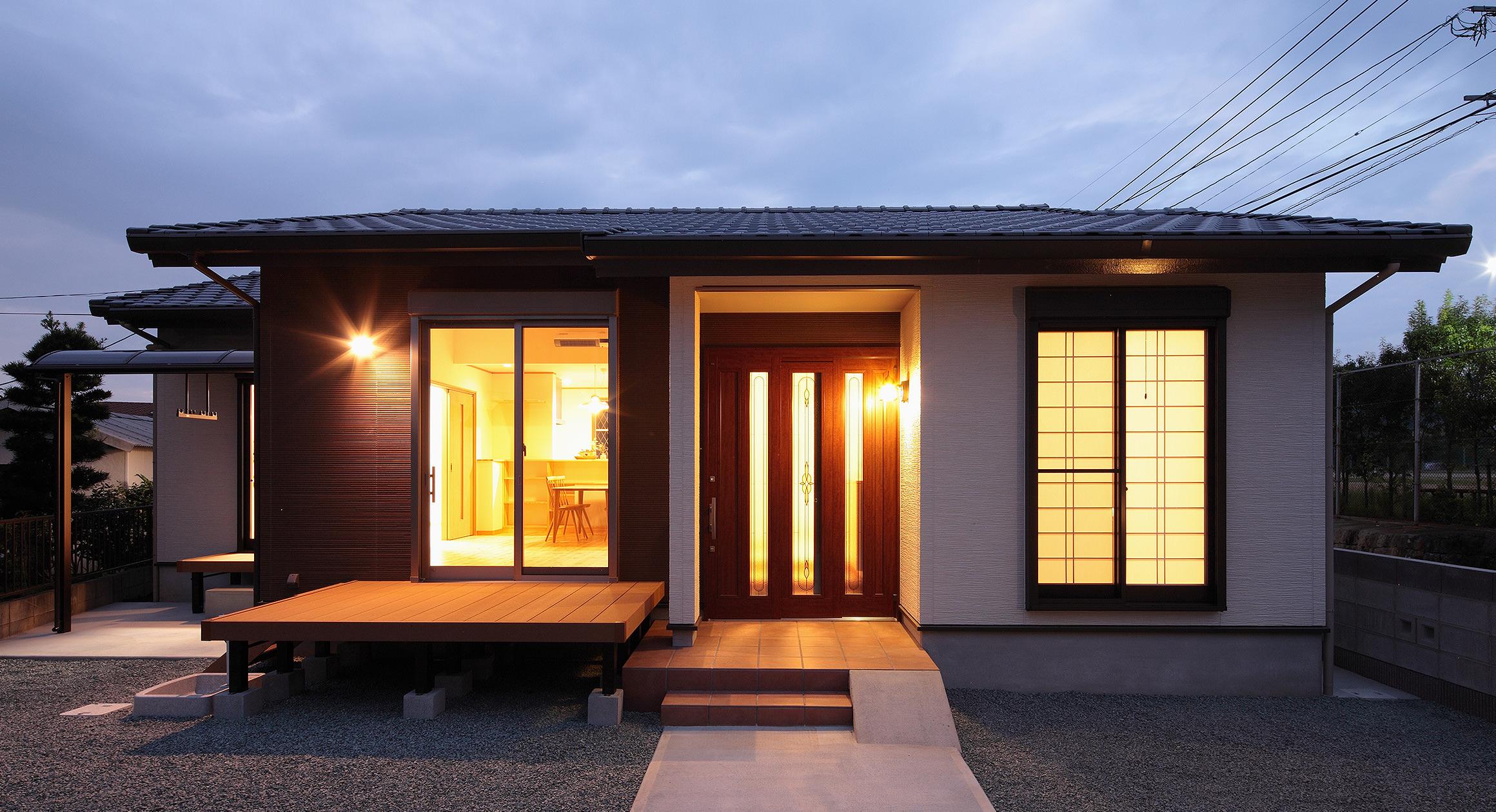 三友工務店の新築注文住宅 熊本市I様邸
