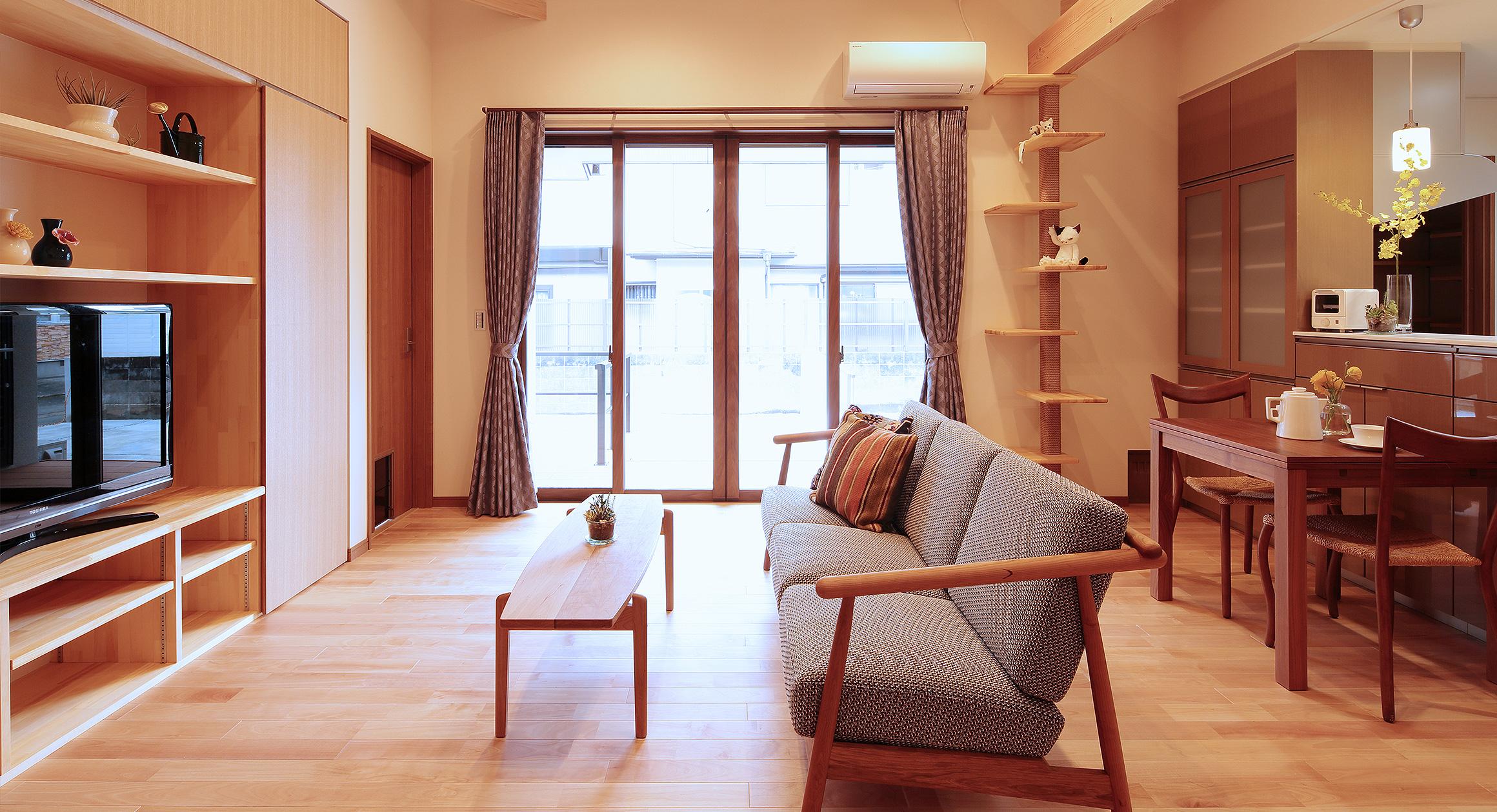 三友工務店の新築注文住宅 熊本市F様邸