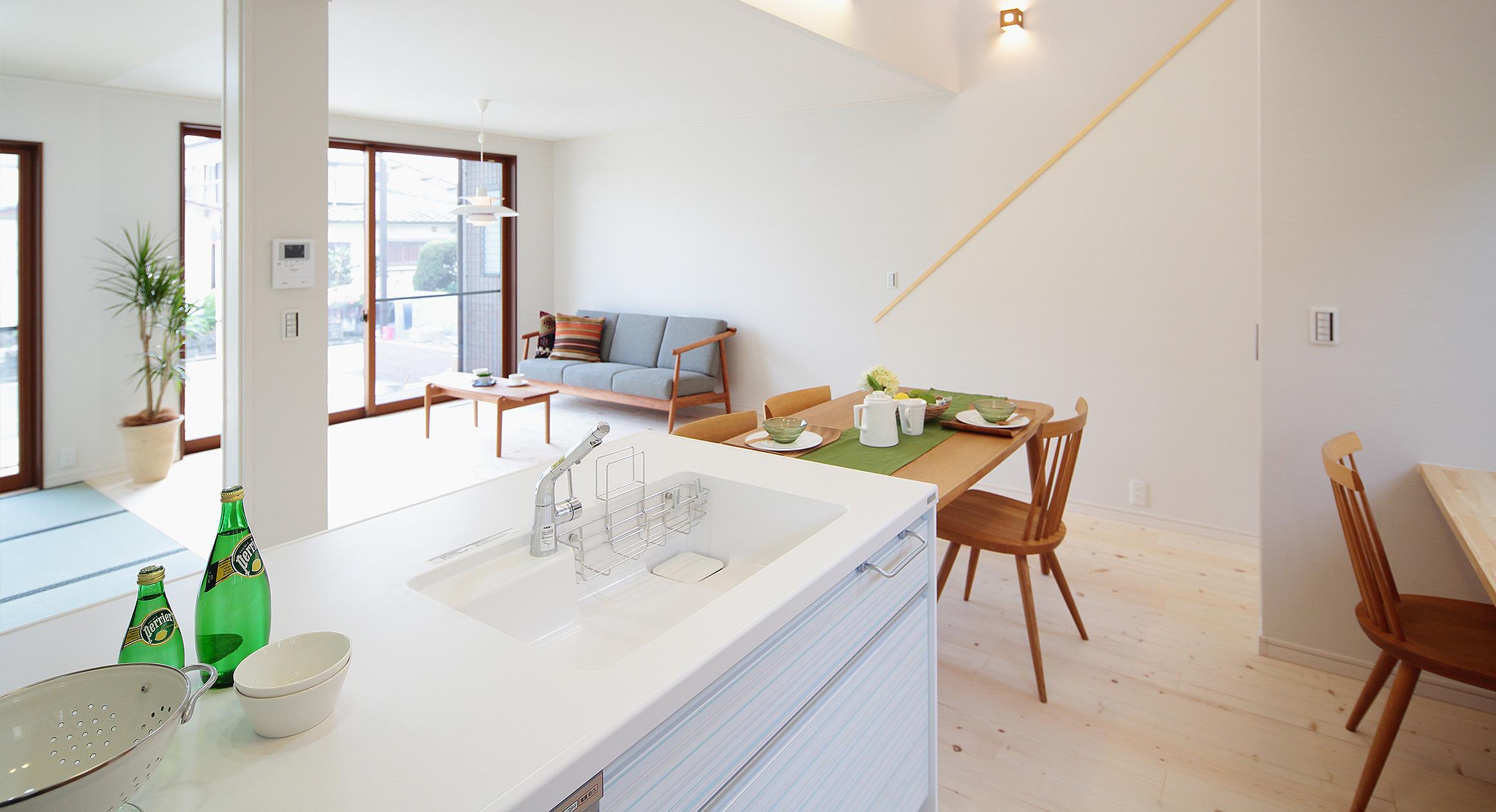 三友工務店の新築注文住宅 熊本市G様邸