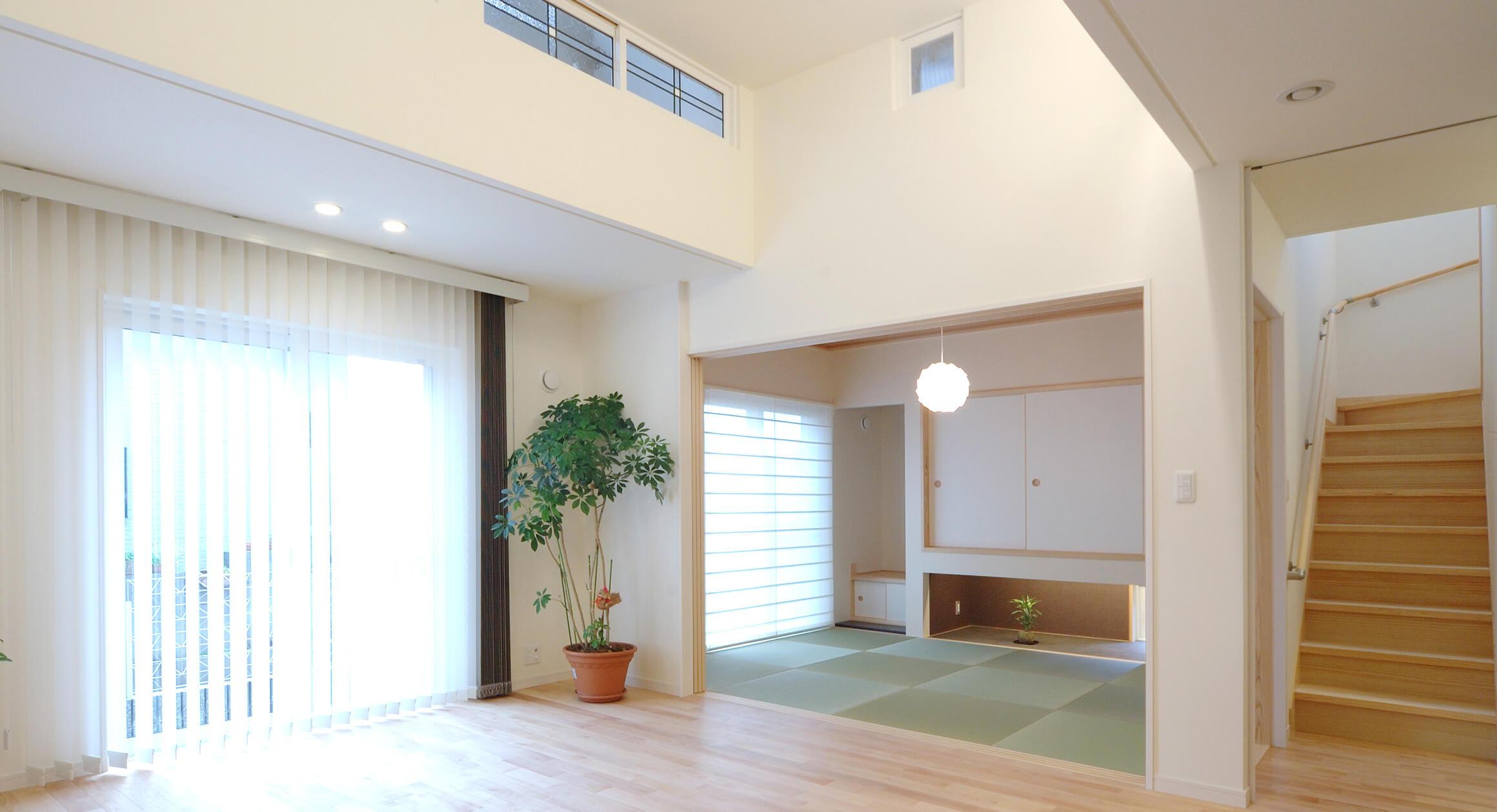 三友工務店の新築注文住宅 熊本市W様邸