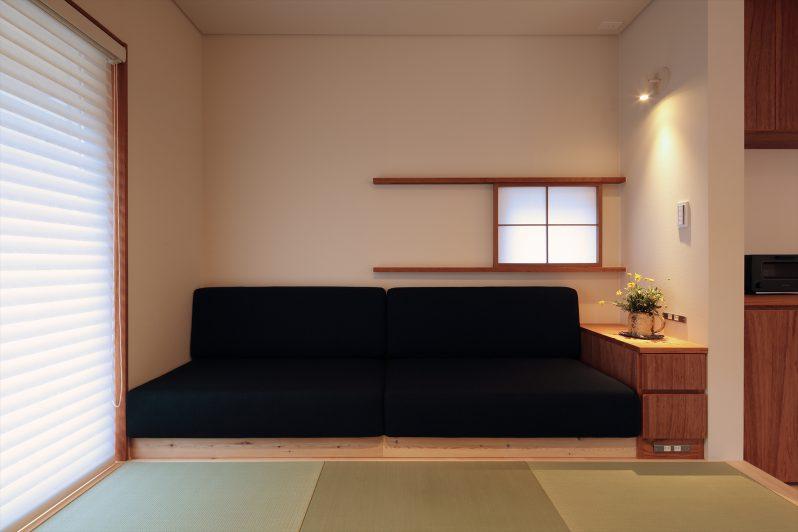 イメージ:造作ソファーで快適な居心地