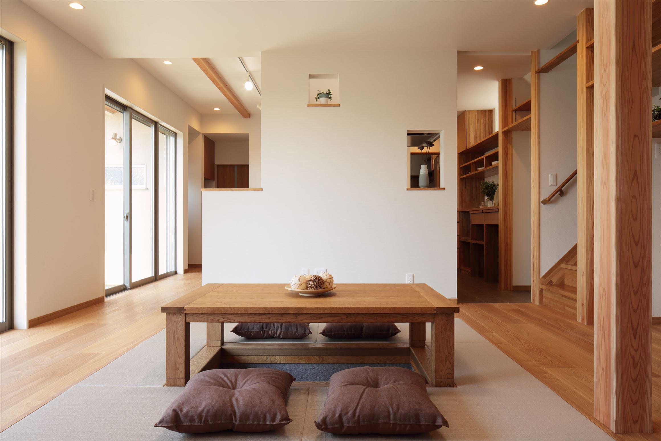 三友工務店の新築注文住宅 熊本市中央区N様邸
